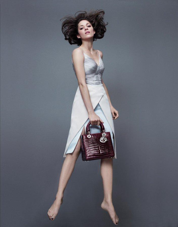 Марион Котийяр для Lady Dior весна 2014
