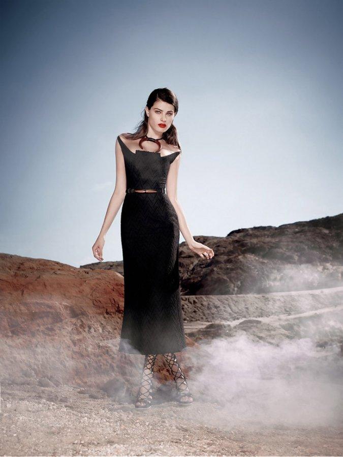 Изабели Фонтана для Tufi Duek Fall 2014