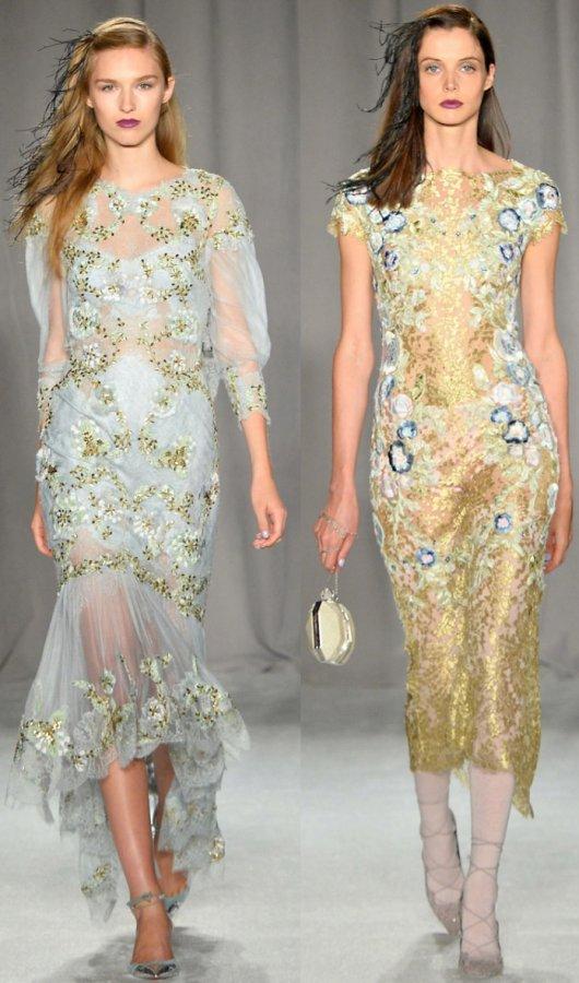 роскошные платья Marchesa