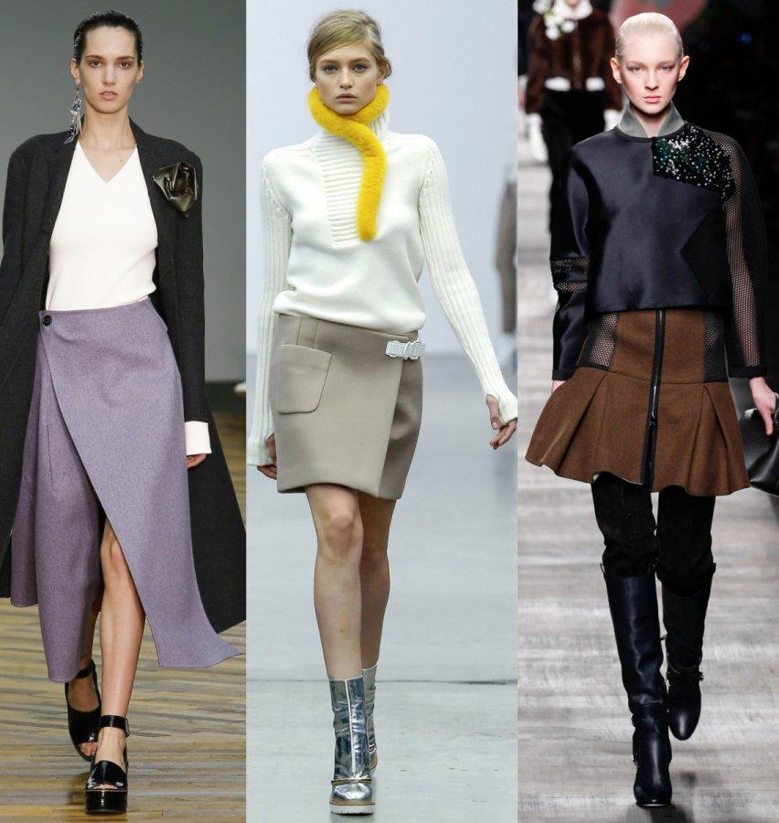 Модные юбки осень и зима 2014-2015