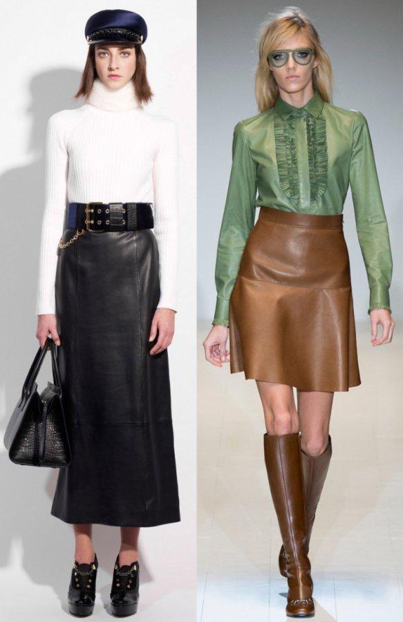 Модные юбки осень зима 2014-2015