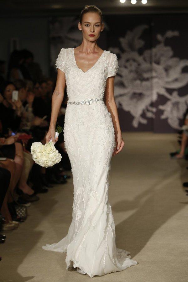Свадебное платье Carolina Herrera 2015