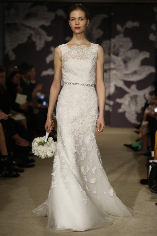 Белое свадебное платье 2015