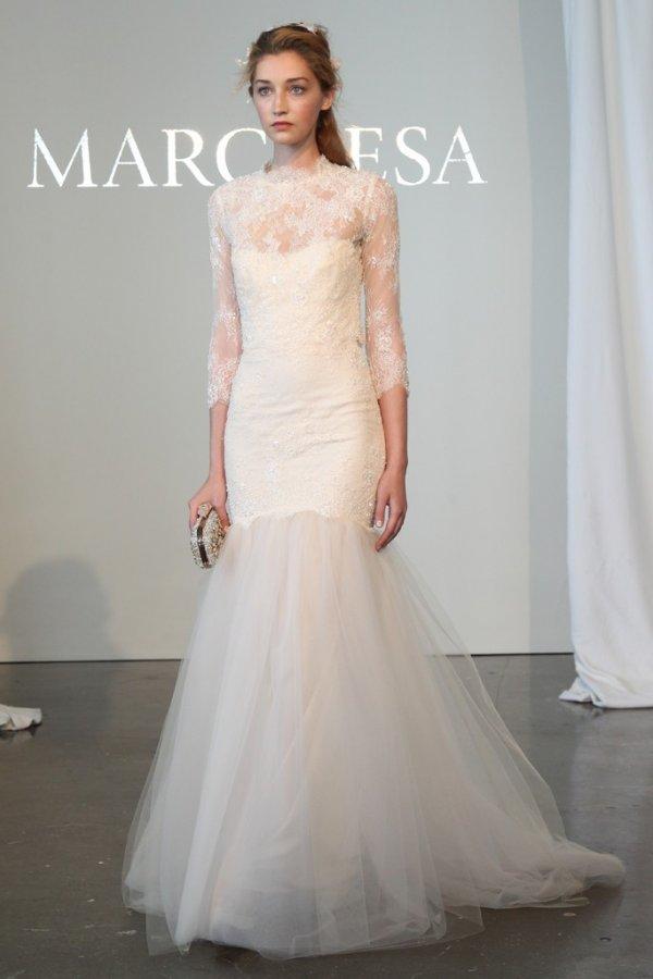 Пышное свадебное платье 2015
