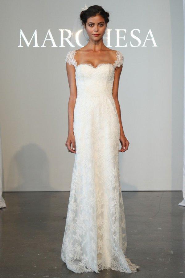 Кружевное свадебное платье 2015