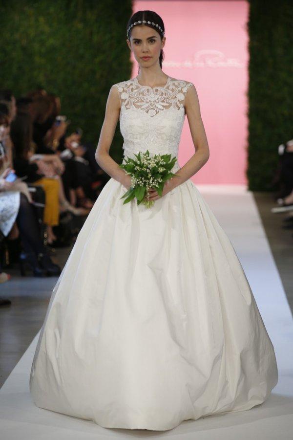 Свадебное платье Oscar de la Renta 2015