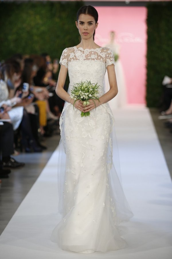 Красивое свадебное платье 2015