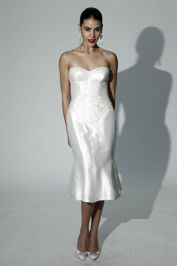 Платье Zac Posen – осень 2014