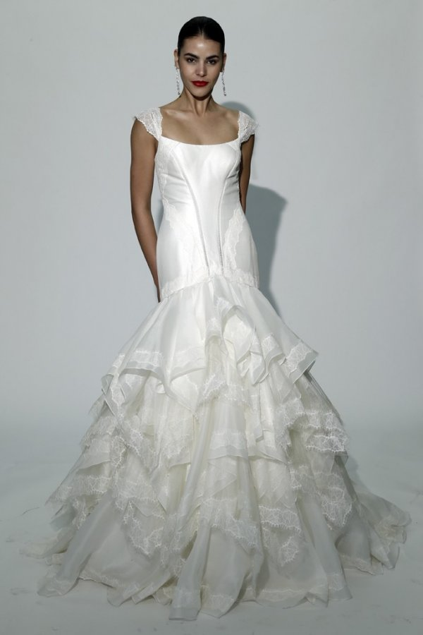 Красивое свадебное платье – осень 2014