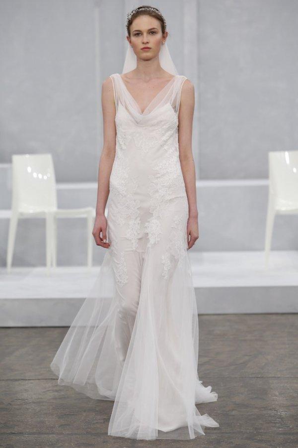 Свадебное платье Monique Lhuillier 2015