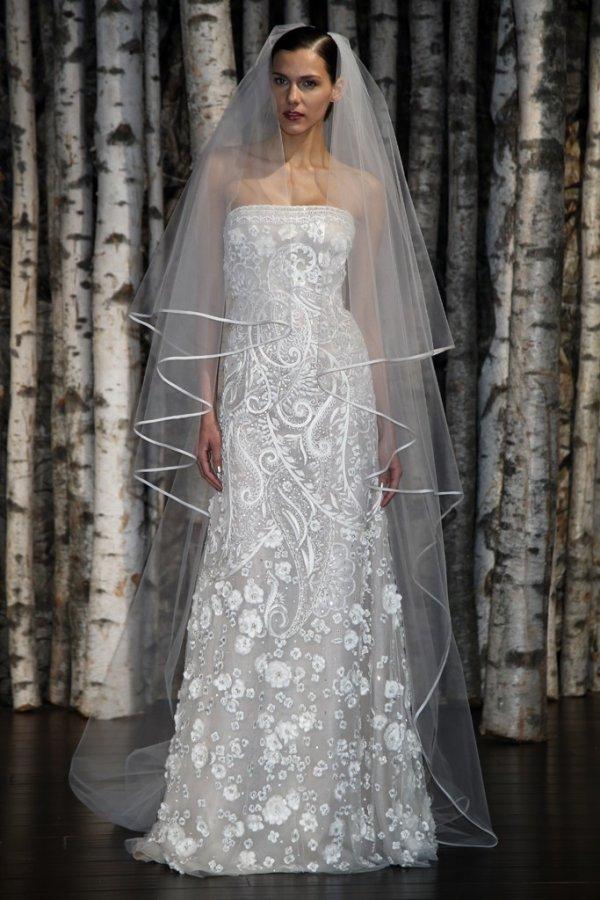 Свадебное платье Naeem Khan весна 2015