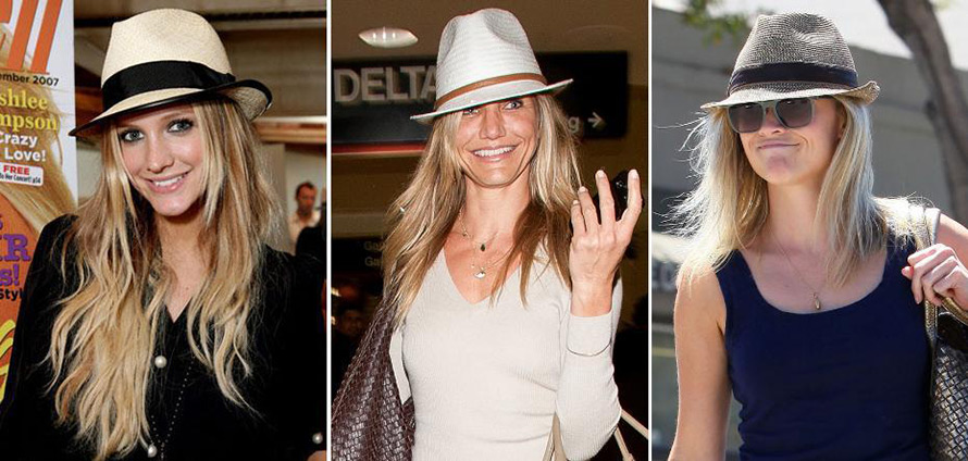 Женские шляпы федора