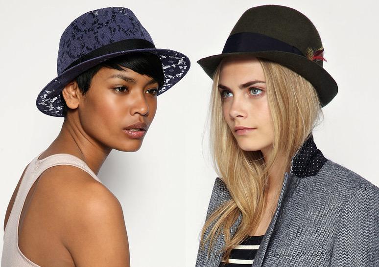 Женские шляпы трилби
