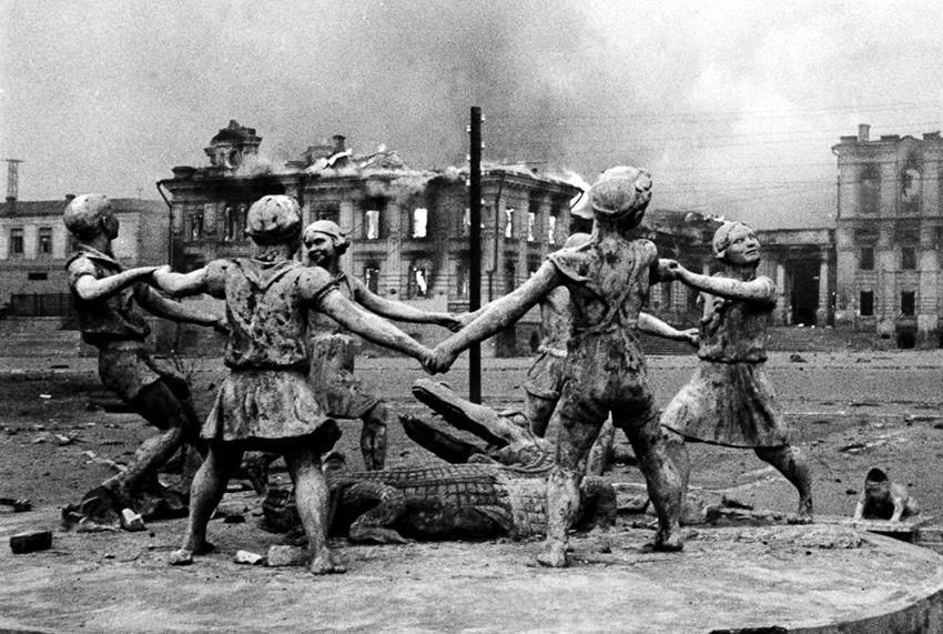Сталинград фонтан 1943