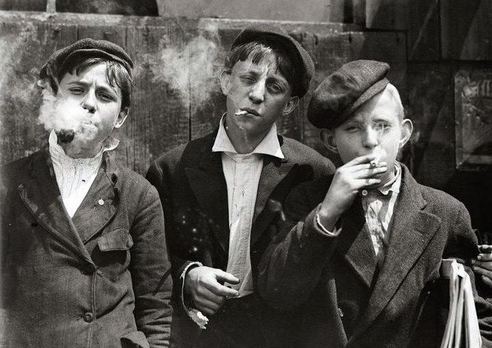 Юные гопники Советской России