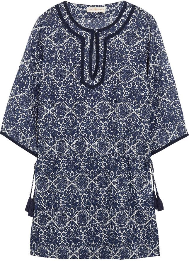 Пляжное платье – туника Tory Burch