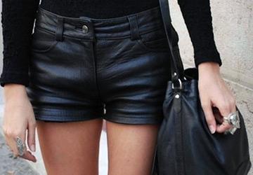 Самые красивые черные шорты 2014