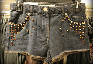 Короткие шорты 2014