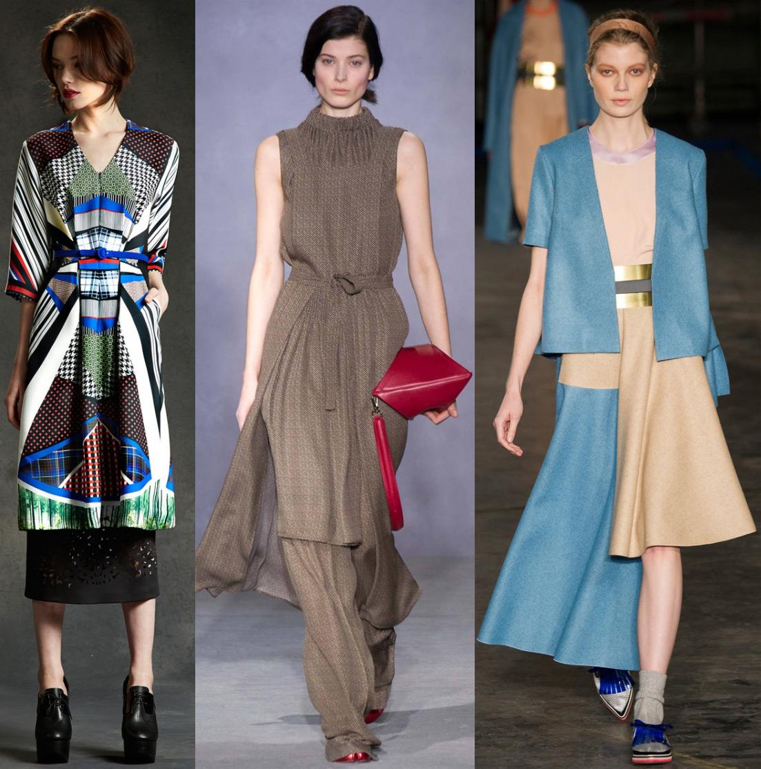 Новые платья осень-зима 2014-2015