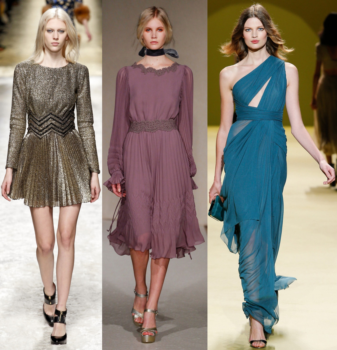 Осень зима 2014-2015 платья