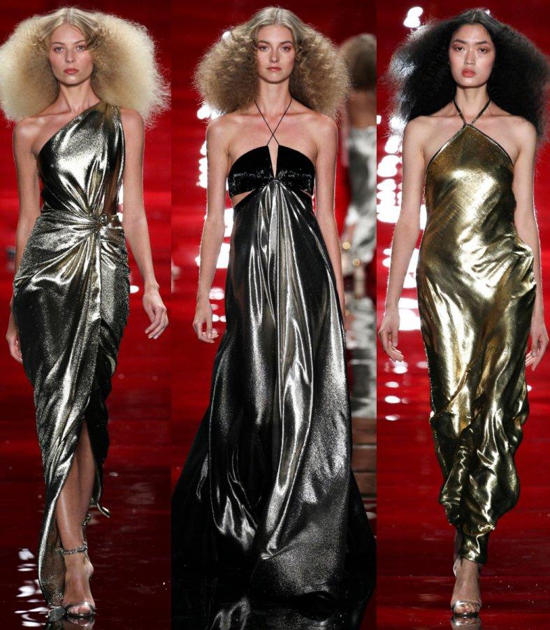 3 блестящих платья Reem Acra