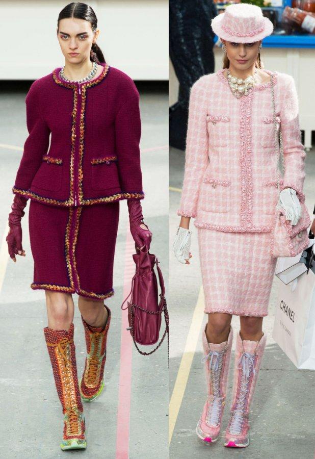 Жакеты Chanel осень и зима 2014-2015