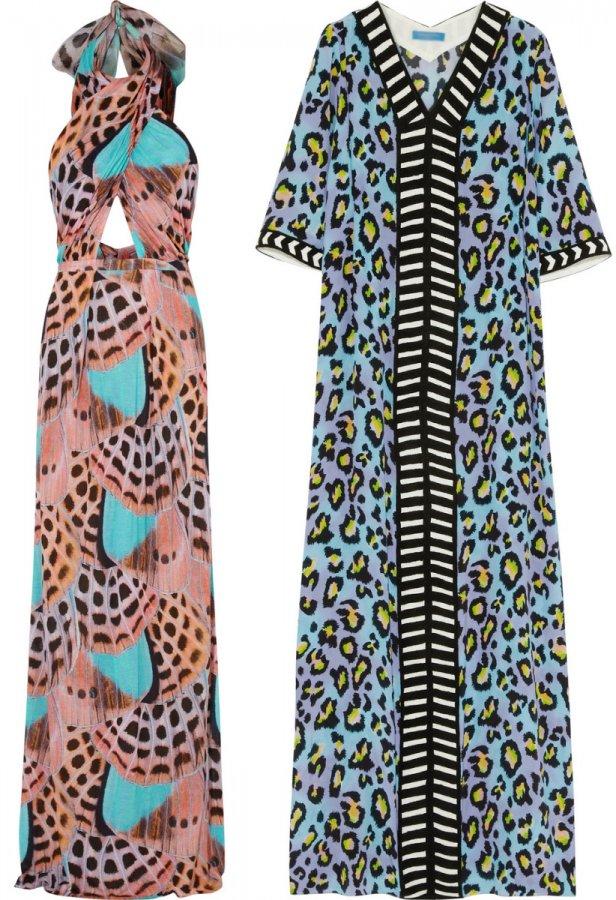 Пляжные платья весна-лето 2014