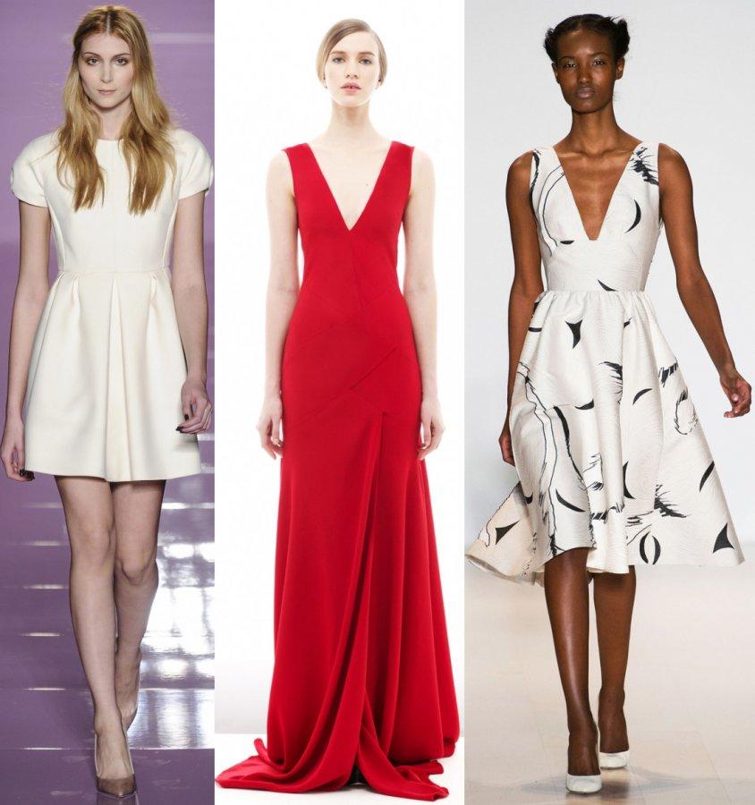 Модные платья осень и зима 2014-2015