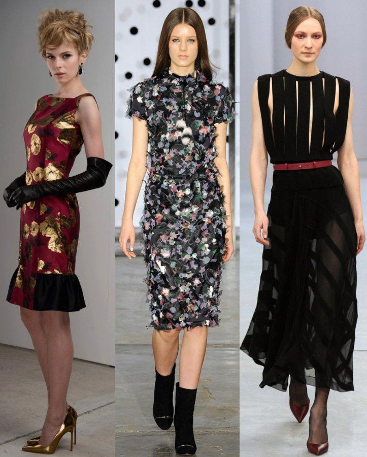 платья Barbara Tfank, Tanya Taylor, Barbara Casasola