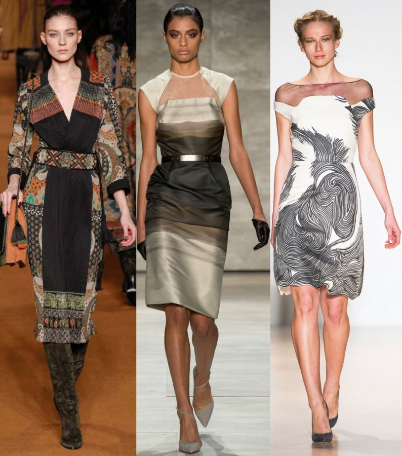 Красивые платья сезона осень-зима 14-15