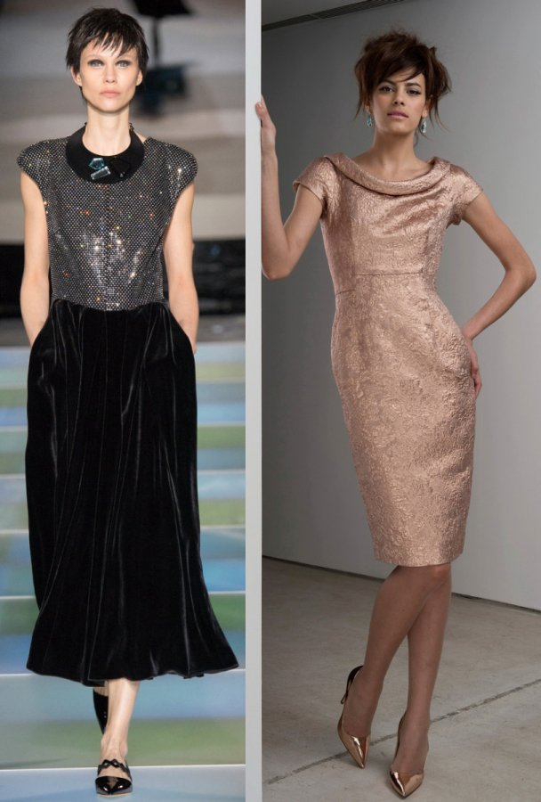 Мода 2014-2015, фото платьев