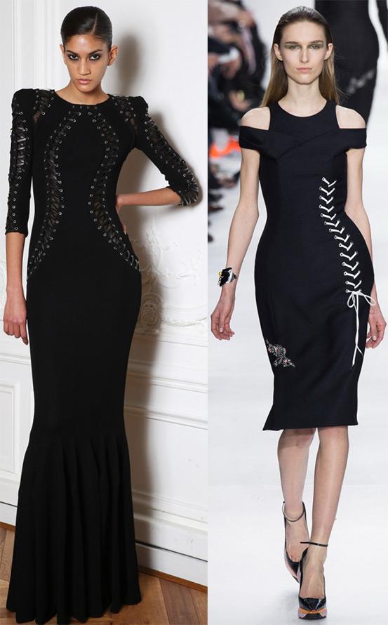 Элегантные чёрные платья