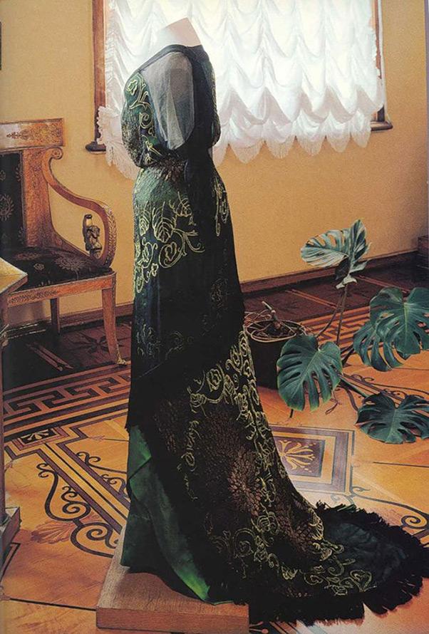 Винтажное платье Ламановой