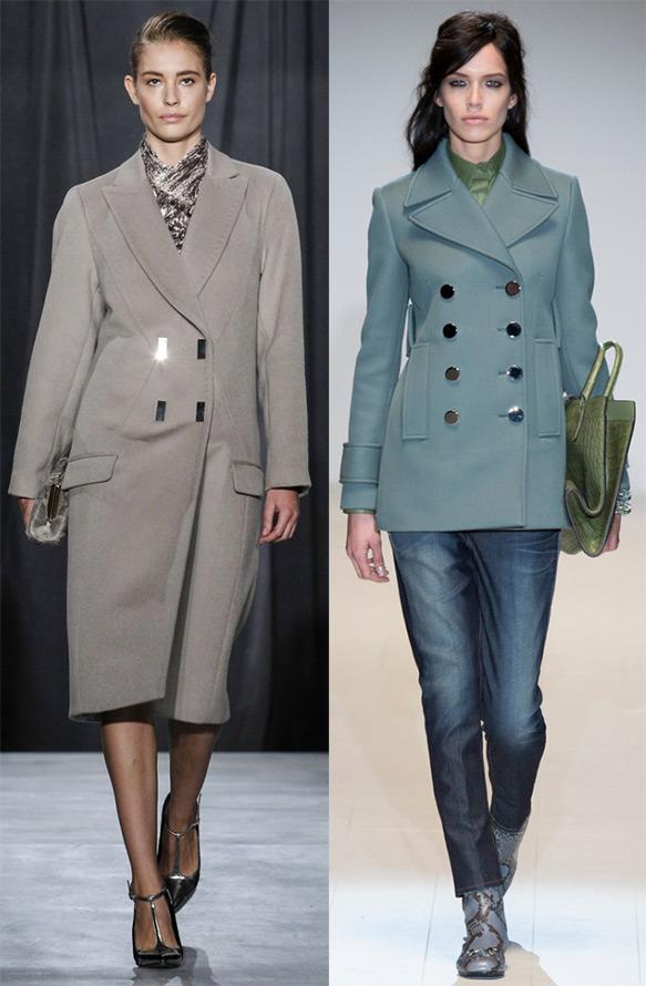 Пальто Jason Wu и Gucci