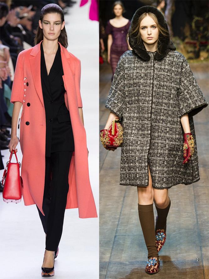 Пальто Christian Dior, Dolce & Gabbana