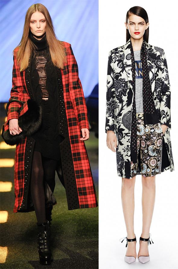Модные пальто – 2014-2015