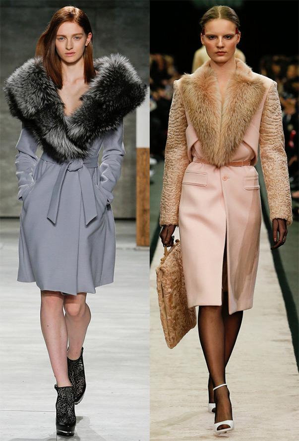 Модные пальто из коллекций 14-15