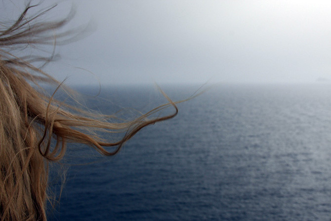 Волосы после моря