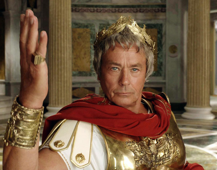 Юлий Цезарь - прически Древнего Рима