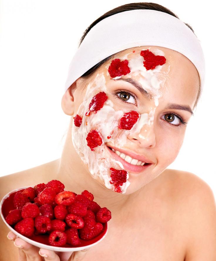 Ягодные маски для лица из малины