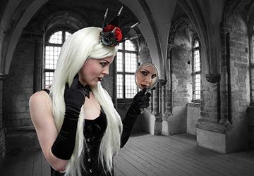 Прически Средневековья – Готика