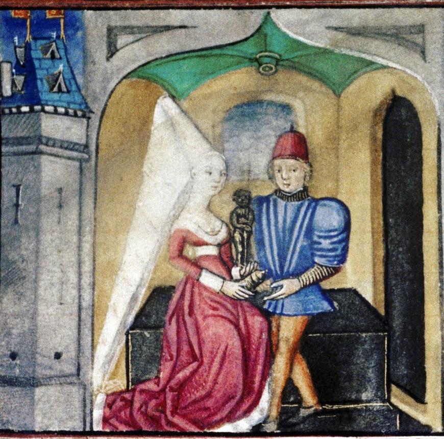 Готические прически средневековья