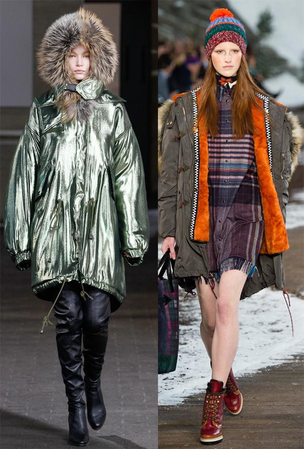 куртки Preen By Thornton Bregazzi и Tommy Hilfiger