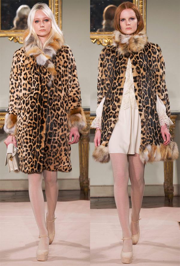Леопардовый принт осень-зима 2014-2015