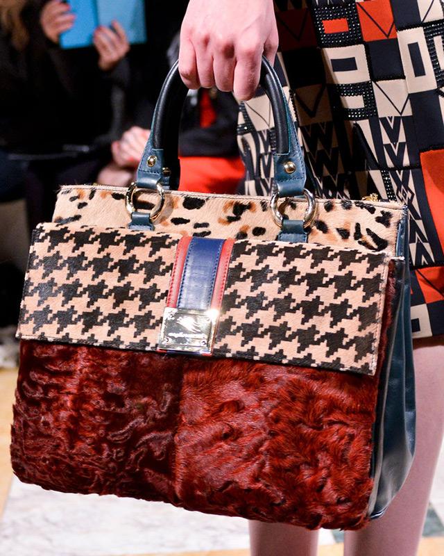 Меховые сумки 2014-2015