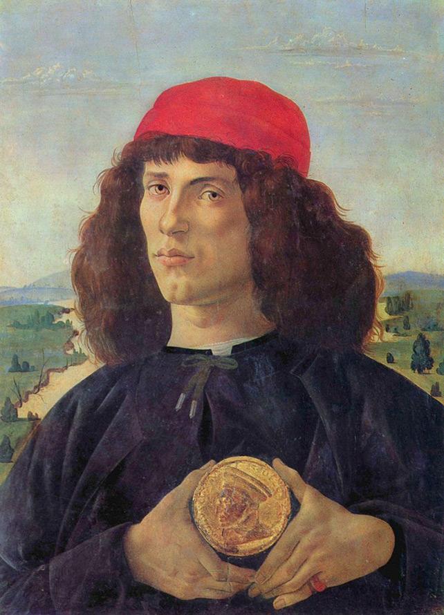 флорентийские прически эпохи Возрождения