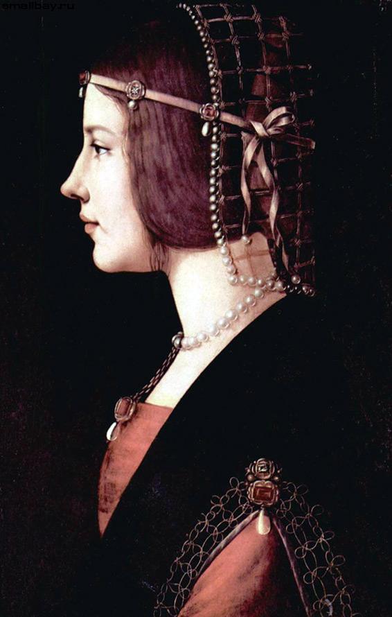 Венецианские прически эпохи Возрождения