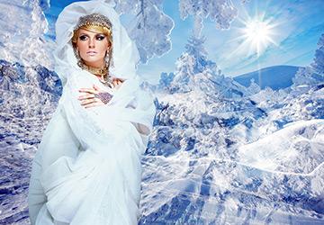 Белые платья на осень и зиму 14-15