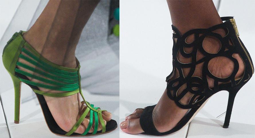 Модные босоножки Oscar de la Renta