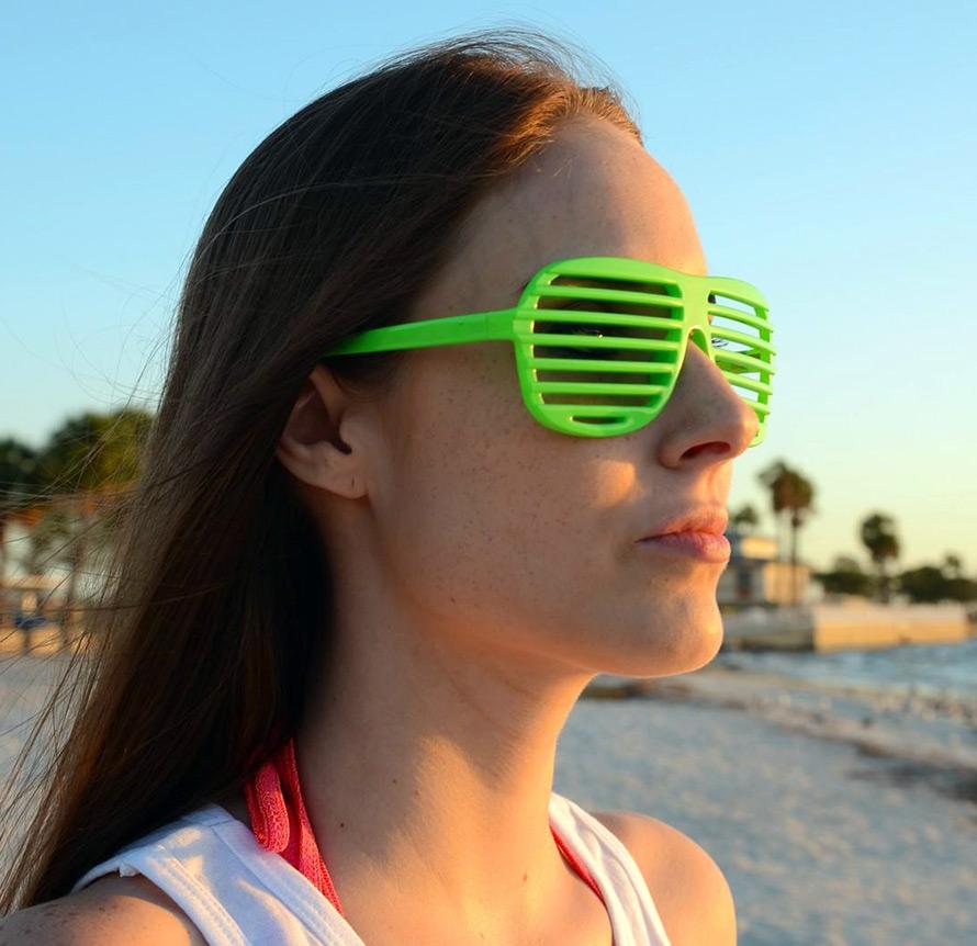 Решетчатые очки, фото